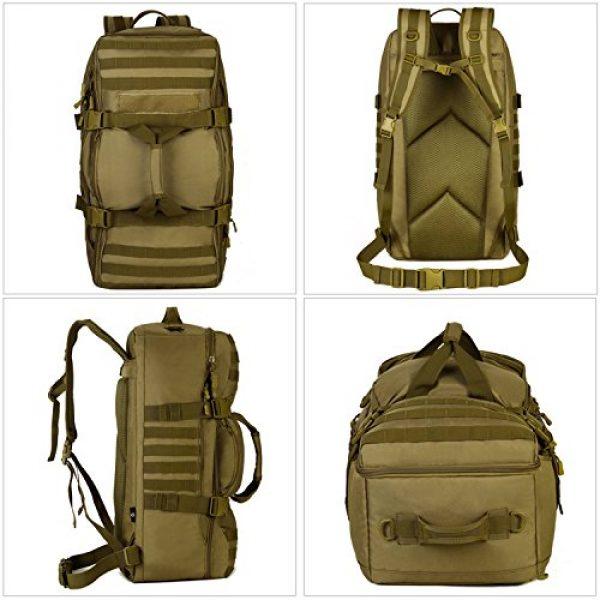 Huntvp Tactical Backpack 4 Huntvp 60L Tactical Military Backpack Gear Sport Outdoor Assault Pack Rucksack Bag For Hunting Camping Trekking Travel