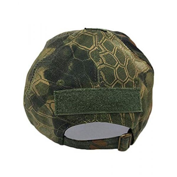 DOngRWF Tactical Hat 2 DOngRWF Outdoor Sport Military Tactical Cap, Army Hat Hunting Camouflage Strip Type Loop Behind Baseball Cap Include 3 Pieces Tactical Military Patches