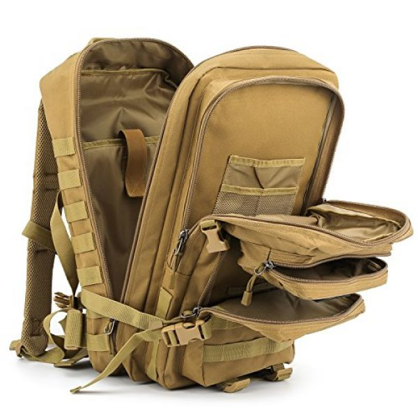 Barbarians Tactical Backpack 4 Barbarians Upgraded 35L Tactical Molle Backpack, Military Assault Pack Rucksack for Outdoor Hiking Camping Trekking Hunting