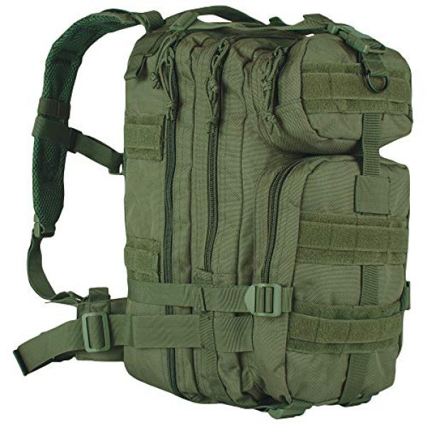 Fox Outdoor Tactical Backpack 1 Fox Outdoor Medium Transport Pack Olive Drab