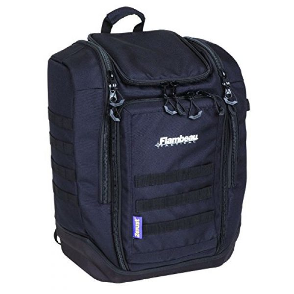 Flambeau Outdoors Tactical Backpack 1 Flambeau Outdoors C50BP Cargo Range Backpack