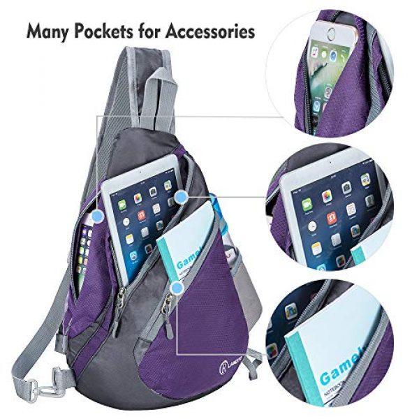 ZOMAKE Tactical Backpack 3 Sling Bag Backpack, Water Resistant Shoulder Backpack Crossbody Bags Daypack