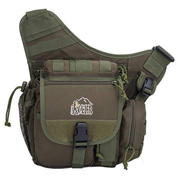 Aveler Tactical Backpack 5 Aveler Nylon Multifunction Sling Bag Tactical MOLLE Military Crossbody Backpack