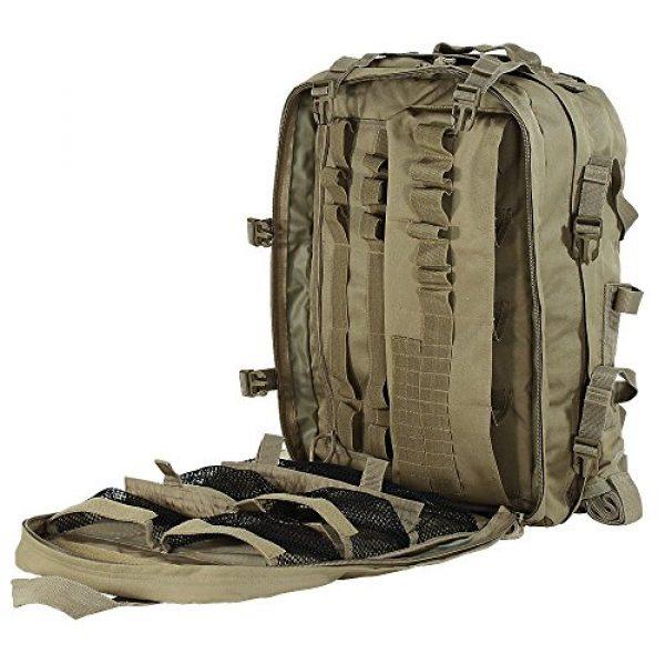 VooDoo Tactical Tactical Backpack 3 VooDoo Tactical Men's Deluxe Professional Special Ops Field Medical Pack, Coyote