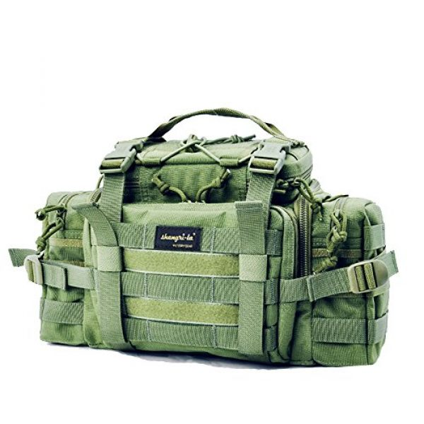 SHANGRI-LA Tactical Backpack 1 SHANGRI-LA Tactical Range Bag Outdoor Sling Backpack Hiking Fanny Waist Pack