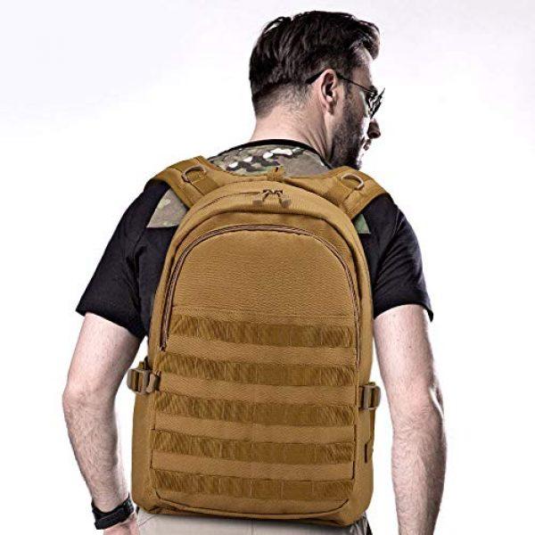 Huntvp Tactical Backpack 7 Huntvp PUBG Backpack Level 3 Tacticalk Laptop Military College Bag