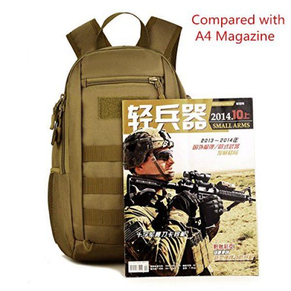 Huntvp Tactical Backpack 2 Huntvp 10L Mini Daypack Military MOLLE Backpack Rucksack Gear Tactical Assault Pack Bag for Hunting Camping Trekking Travel