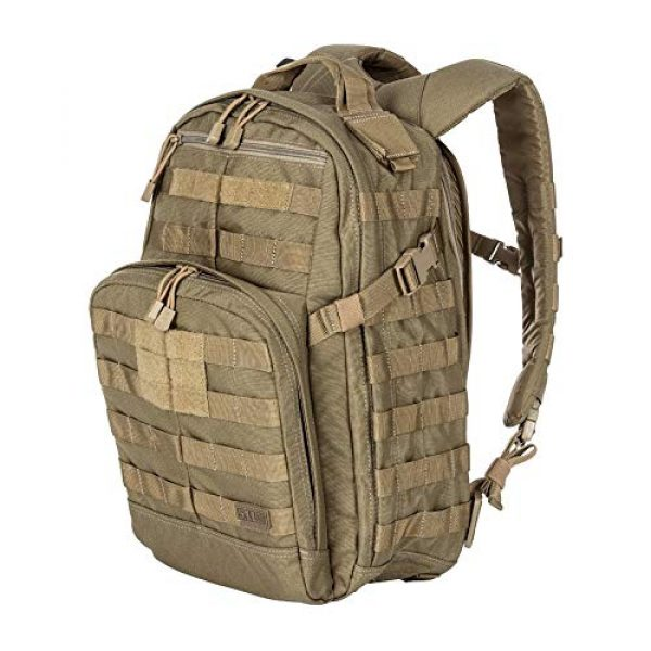 5.11 Tactical Backpack 3 5.11 Tactical RUSH72 Military Backpack, Molle Bag Rucksack Pack, 55 Liter Large, Style 58602