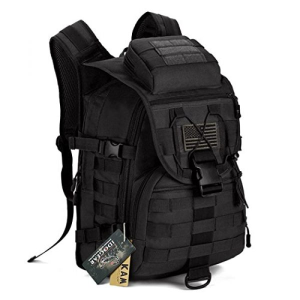 IDOGEAR SPORTS Tactical Backpack 1 IDOGEAR 40L Tactical Backpack Molle Assault Pack 900D Nylon Water Resistant Shoulder Bag Travelling Airsoft Backpacks