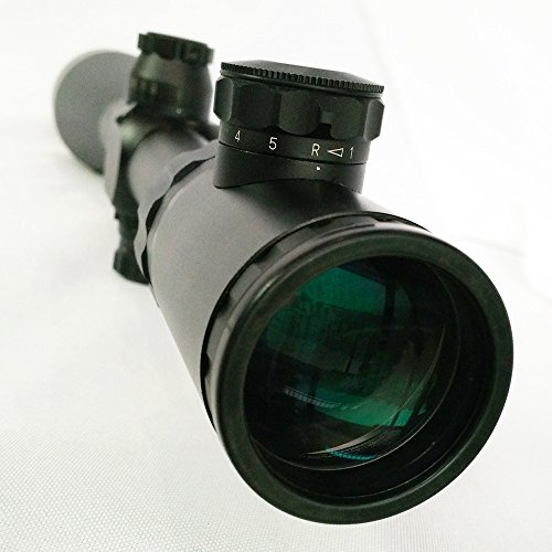 SECOZOOM Rifle Scope 4 Optics for Hunting 14 Zoom Ratio 1000 Yard Shooting & Hunting 2.5-35x56 Sniper Hunting Rifle Scope Long Range
