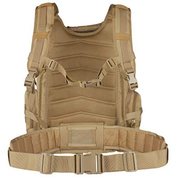 Fox Outdoor Tactical Backpack 4 Fox Outdoor Products Field Operator's Action Pack, Coyote