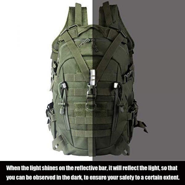 LHI Tactical Backpack 7 LHI Military Tactical Backpack for Men and Women 45L Army 3 Days Assault Pack Bag Large Rucksack with Molle System