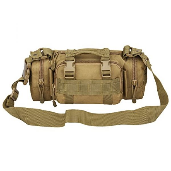 G4Free Tactical Backpack 6 G4Free Fanny Deployment Bag Tactical Waist Pack Small Sling Pack Hand Carry Bag Handlebar Bag