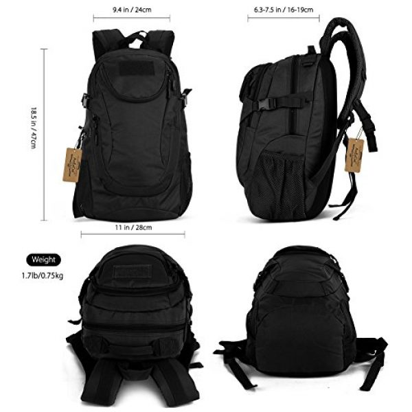 ArcEnCiel Tactical Backpack 2 ArcEnCiel Motorcycle Backpack Tactical Military Bag Army Assault Pack - Rain Cover Included