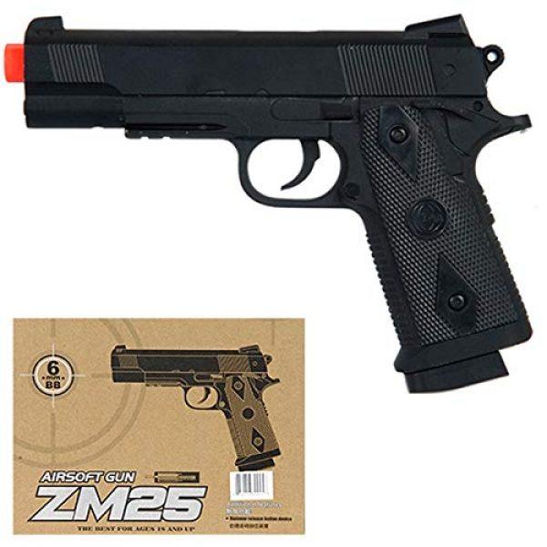 Airsoft Airsoft Pistol 1 Airsoft CYMA M1911 Full Metal Body - Spring Handgun Pistol - Side Arm - ZM25B