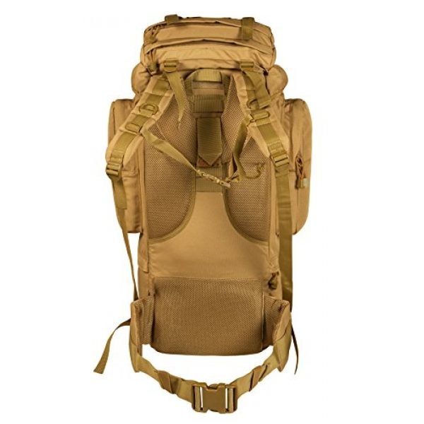 Seibertron Tactical Backpack 3 Seibertron 65L Internal-frame Waterproof Backpack Rain Cover Included