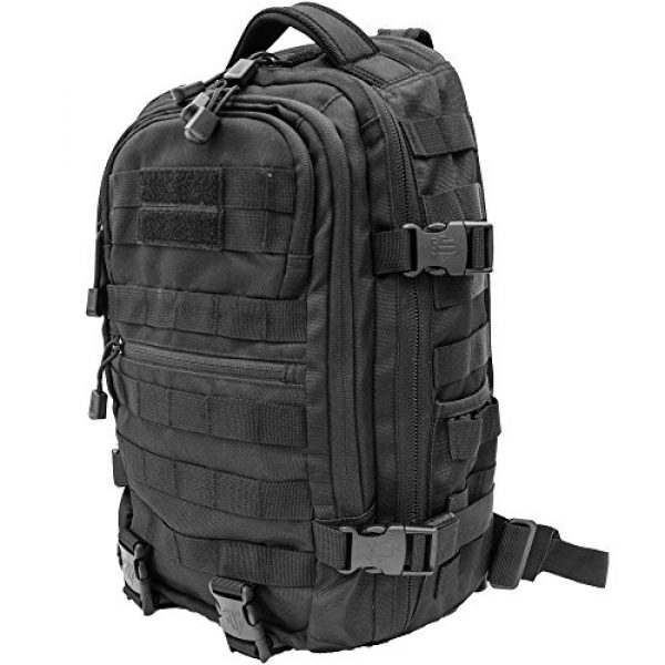 UTG Tactical Backpack 2 UTG Ambi 24/7 Cross Body Shoulder Vital Sling Pack, Black
