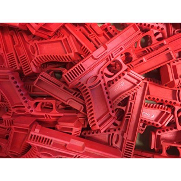 GARRET MACHINE Rubber Training Pistol Blue Gun 5 GARRET MACHINE Plastic Inert Training Pistol Compatible with Glock (Black, 17)