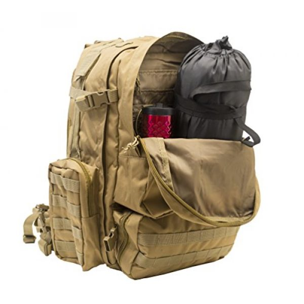 World Famous Sports Tactical Backpack 5 World Famous Sports Large 3 Day Tactical Backpack