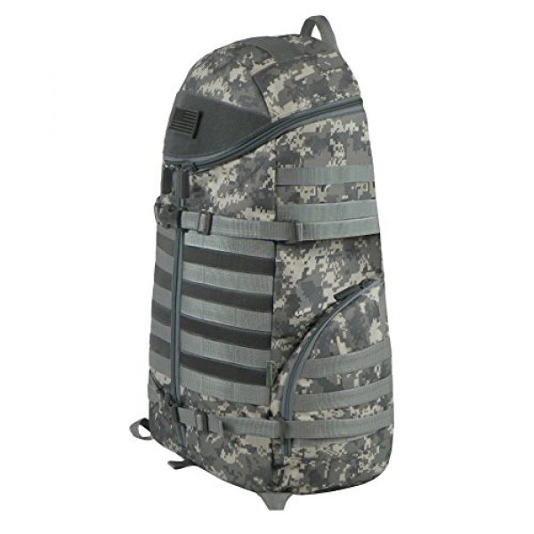 East West U.S.A Tactical Backpack 2 East West U.S.A RTC516 Tactical Camouflage Trizip Molle Hunting Camping Hiking Assault Backpack
