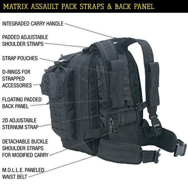 VooDoo Tactical Tactical Backpack 7 VooDoo Tactical Men's Matrix Pack, Black