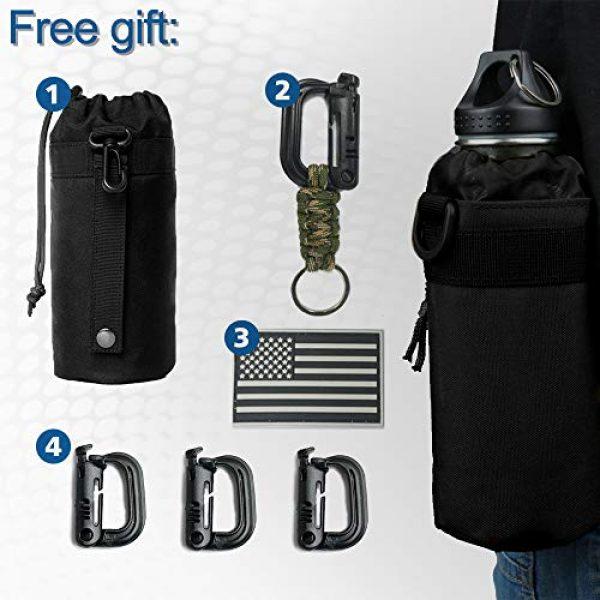 Monoki Tactical Backpack 6 Monoki Tactical Sling Backpack, Military Rover Shoulder Sling Bag Pack, Molle Assault Range Bag Day Pack