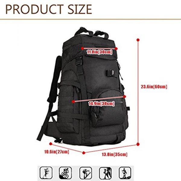 Huntvp Tactical Backpack 3 Huntvp 55L Tactical Military MOLLE Backpack Rucksack