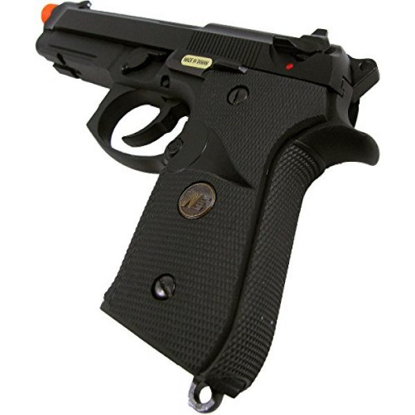 WE Airsoft Pistol 5 WE meu m92 gas/co2 blowback full metal - black(Airsoft Gun)