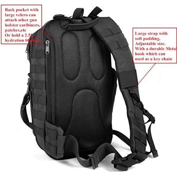 ABENAKI Tactical Backpack 4 ABENAKI Tactical Sling Bag Pack Military Rover Shoulder Backpack Bowmen Bag
