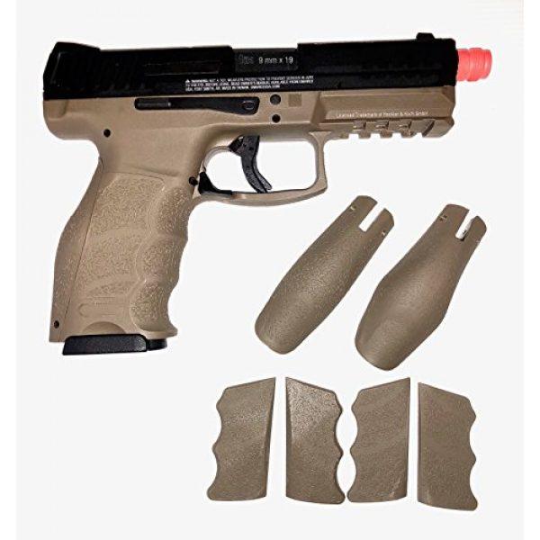 VFC Airsoft Pistol 2 Umarex H&K Licensed VP9 Tac GBB Pistol (BLK/DEB)