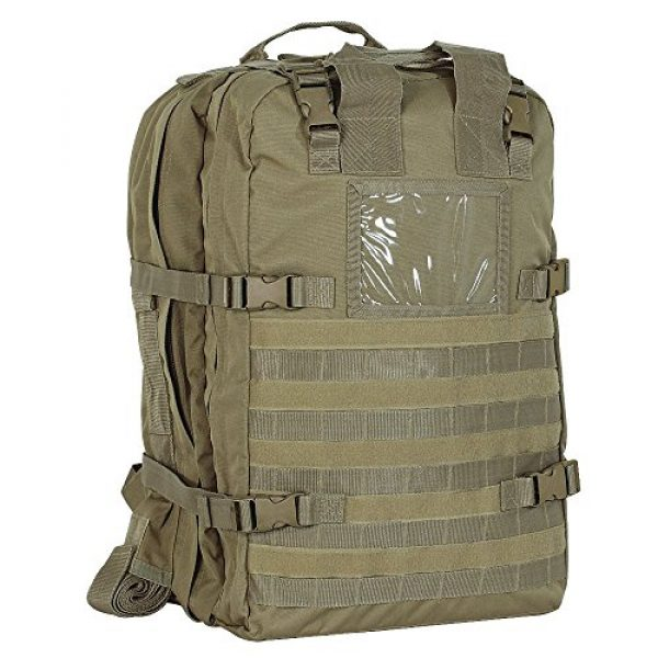 VooDoo Tactical Tactical Backpack 1 VooDoo Tactical Men's Deluxe Professional Special Ops Field Medical Pack, Coyote