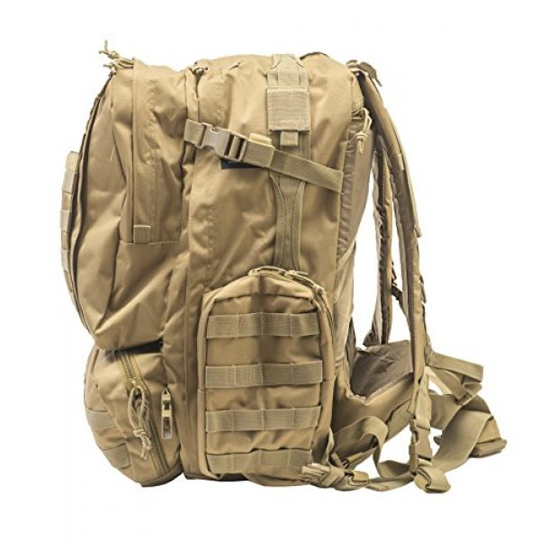 World Famous Sports Tactical Backpack 3 World Famous Sports Large 3 Day Tactical Backpack