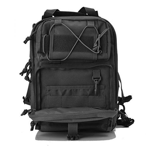 Gowara Gear Tactical Backpack 6 Gowara Gear Tactical Sling Bag Pack Military Backpack Range Bags Black
