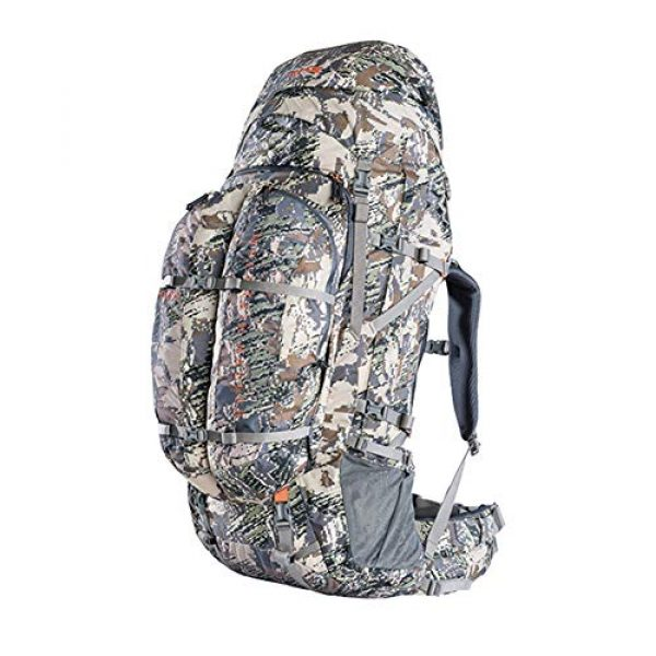 SITKA Gear Tactical Backpack 1 Sitka Mountain Hauler 4000 Framed Expandable Hunting Pack