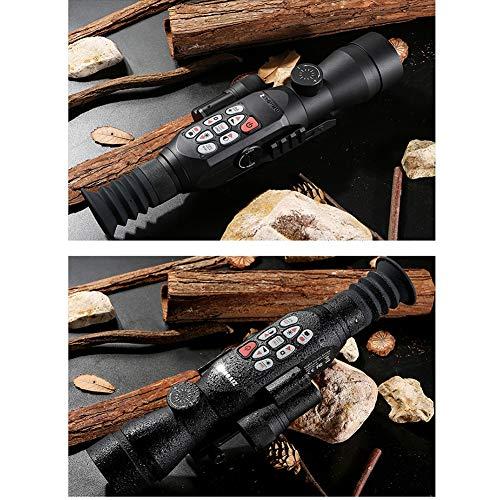 DJym Rifle Scope 6 DJym GPS HD High-Powered Night Vision Monocular, Zoom Digital Video Camera for Outdoor Hunting Rangefinder