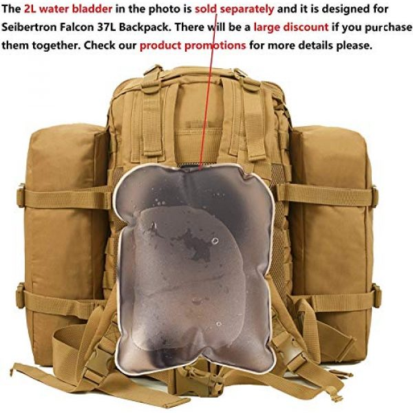 Seibertron Tactical Backpack 2 Seibertron Falcon Water Repellent Hiking Camping Backpack Compact Pack Summit Bag