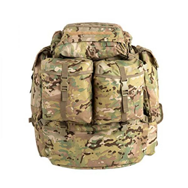 MT Tactical Backpack 1 MT Assembly Military Rucksack Tactical Assault Backpack Hydration Pack System with Frame and Hip Belt Multicam