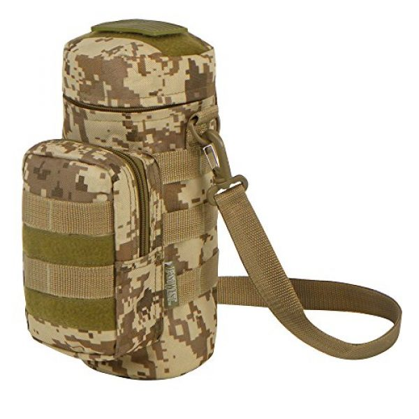 East West U.S.A Tactical Backpack 2 East West U.S.A RTC521 Tactical Water Bottle Pouch Military Molle Pack Gear Waist Back Pack