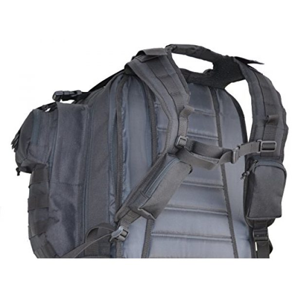 Explorer Tactical Backpack 4 Explorer Tactical Gun Concealment Backpack With Molle Webbing Hydration Ready