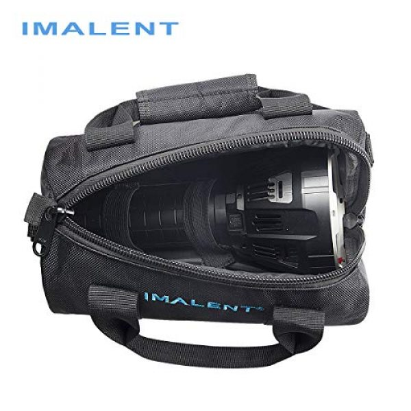 IMALENT Tactical Backpack 4 IMALENT MS12 Bag Outdoor Tactical Bags Utility Pouch, Waterproof Messenger Shoulder Bag EDC Pouch Carrying Case for DX80,R90C, MS18, R90TS and Electronic Product