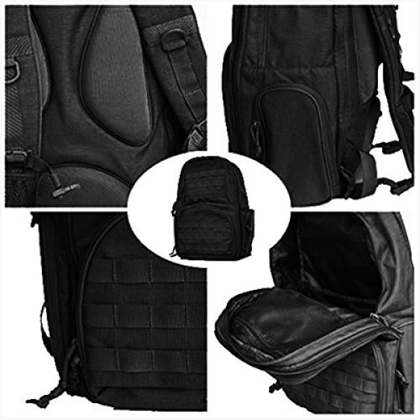 FEAR GEAR Tactical Backpack 5 FEAR GEAR Large Military Tactical Assault Pack Outdoor Backpack Molle Bag