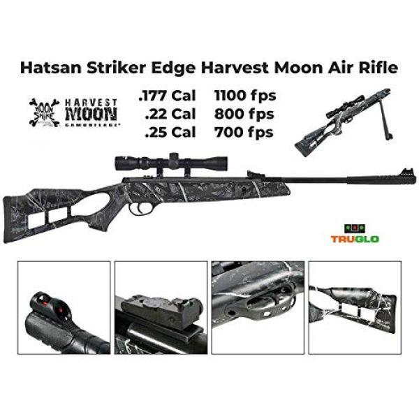 Wearable4U Air Rifle 4 Hatsan Striker Edge Spring Harvest Moon Combo Air Rifle with Wearable4U 100x Paper Targets and Lead Pellets Bundle