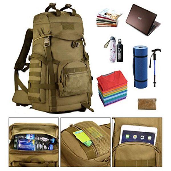 Huntvp Tactical Backpack 5 Huntvp 55L Tactical Military MOLLE Backpack Rucksack