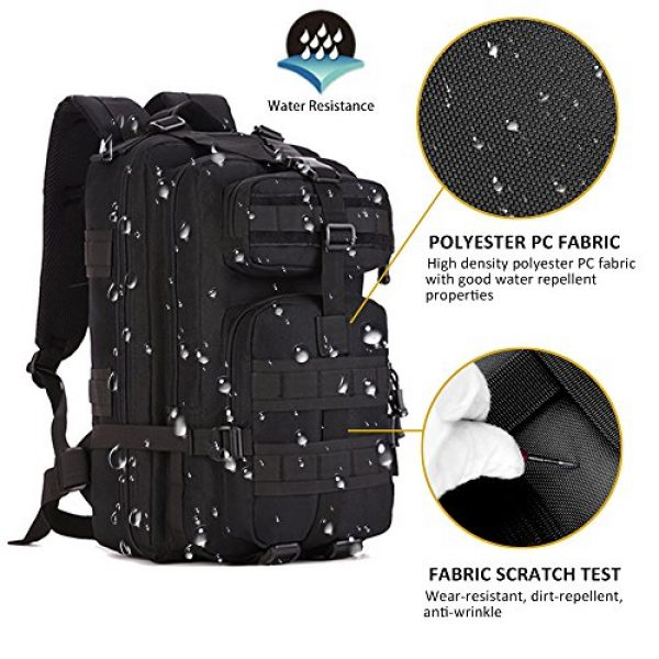 Zology Tactical Backpack 3 Zology Military Tactical Backpack for BOB GHB MOLLE Assault Bag