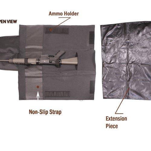 TUFF ZONE Rifle Case 3 TUFF ZONE Extendable Rifle Case/Shooting Mat(GCM)