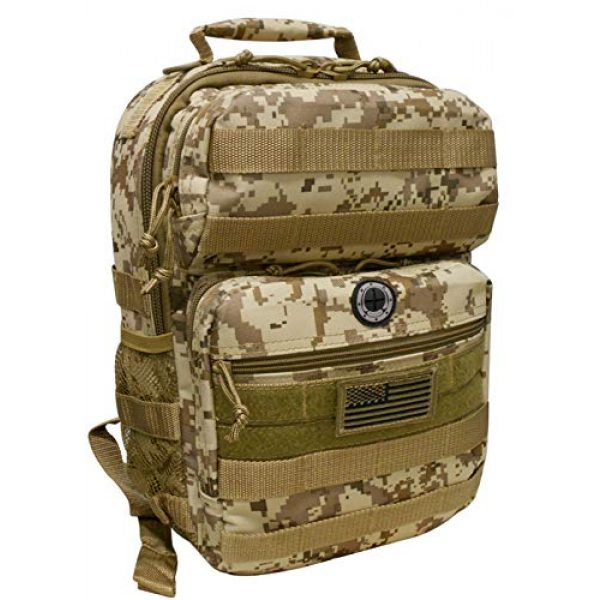 Nexpak Tactical Backpack 2 Nexpak Tactical Military Camping Hiking Outdoor Backpack w/MOLLE straps