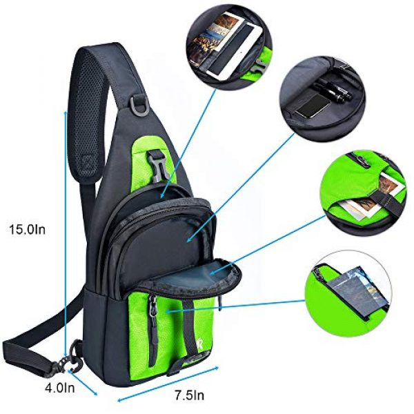 Y&R Direct Tactical Backpack 6 Y&R Direct 14 Colors Lightweight Sling Backpack Sling Bag Travel Hiking Small Backpack for Women Men Kids Gifts