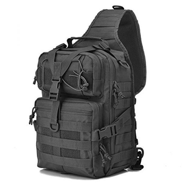 Gowara Gear Tactical Backpack 1 Gowara Gear Tactical Sling Bag Pack Military Backpack Range Bags Black