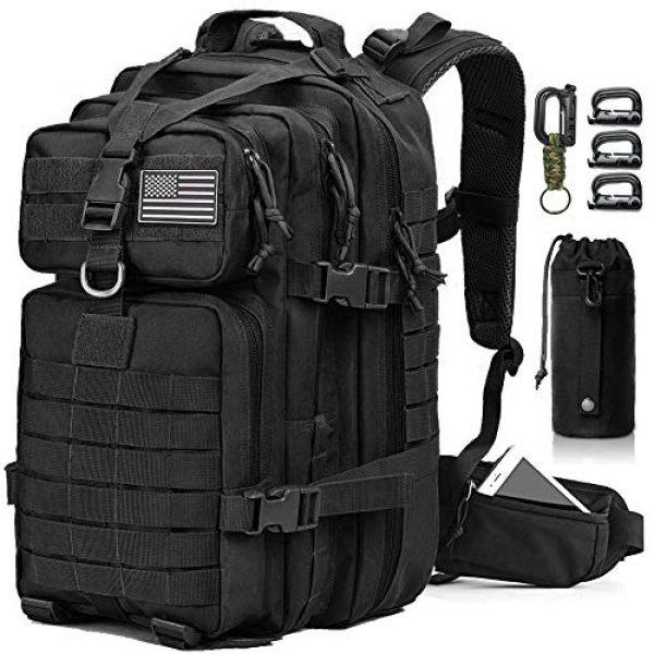 EMDMAK Tactical Backpack 1 EMDMAK Military Tactical Backpack, 42L Large Military Pack Army 3 Day Assault Pack Molle Bag Rucksack for Outdoor Hiking Camping Hunting