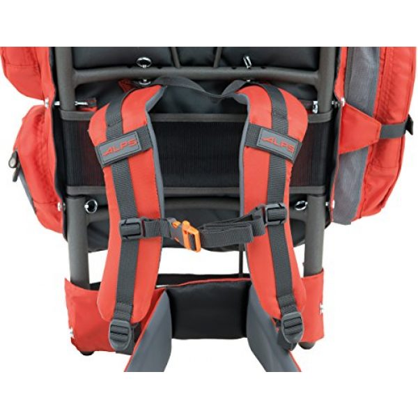 ALPS Mountaineering Tactical Backpack 5 ALPS Mountaineering Red Rock External Frame Pack, 34 Liters (3402229)